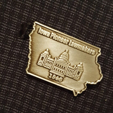 A Pledge Pin On Your Uniform!