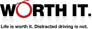 Worth It logo - distracted driving campaign by UFG Insurance